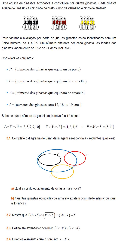 Aulas de matemtica do 12 ano sobre acontecimentos no diagrama de venn exerccio de matemtica do 12 ano ccuart Choice Image