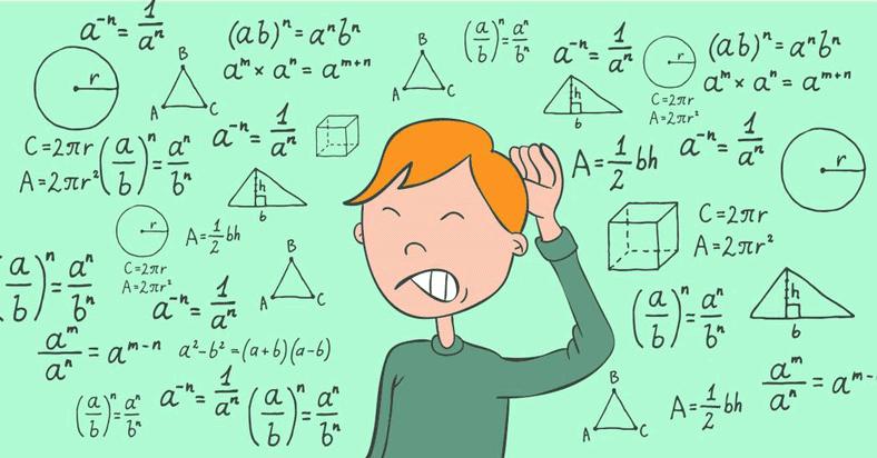 Resultado de imagem para matemática é dificil